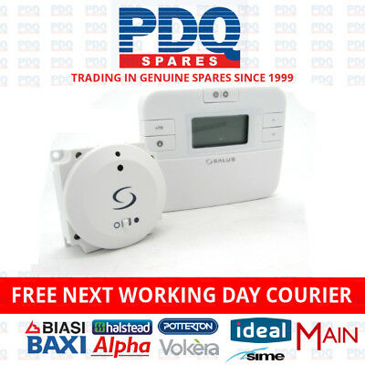 Salus Rt500Bc Combi Boiler Digital Programmable Wireless Thermostat - Brand New