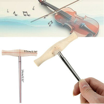 Violin Viola Peg Hole Axion Reamer 1:30 Taper Wood Handle For Luthier Tool Parts