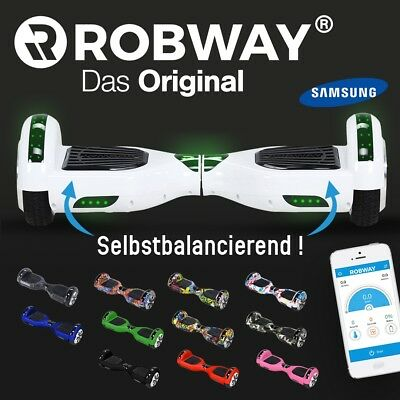 Hoverboard ROBWAY W1 Scooter Elektro Roller Self Balance Hover Board Skateboard