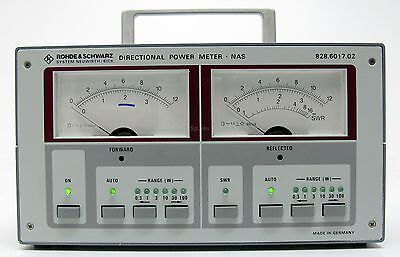 R&S Rohde Schwarz NAS Directional Power Meter with battery for NAS-Z sensor