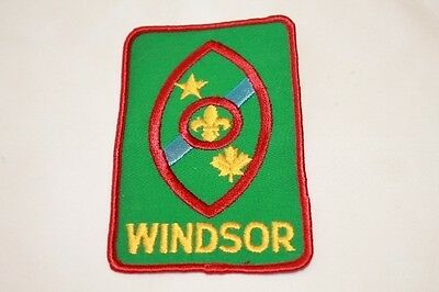 Canadian Windsor Large Boy Scout Patch