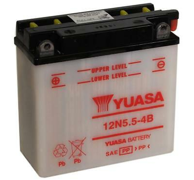 Genuine Yuasa 12N5.5-4B 12V Motorbike Motorcycle Battery