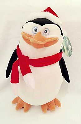 The Penguins Of Madagascar, Skipper Plush Toy, Christmas Soft Toy 13 Tall New