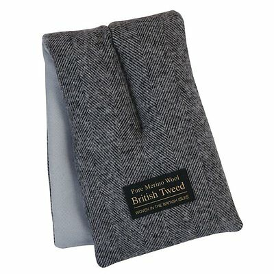 Aroma Home Soothing Luxury Herringbone Tweed Merino Comforting Wool Body Wrap