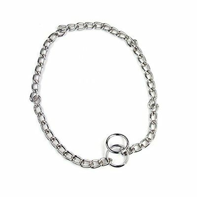 Heavy Dog Choke Chains Silver Steel Training Collar 60cm (3mm Thick)  by Pet Tou