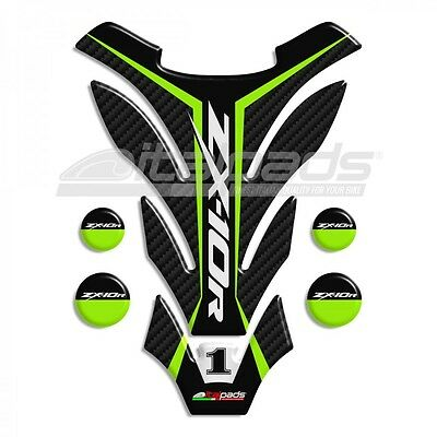 """Generic TANK PAD suitable for Kawasaki ZX10-R mod. """"Detroit"""" +4 FOR FREE!!"""