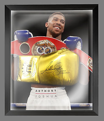 Anthony Joshua Signed VIP Boxing Glove In A Dome Frame.Incribed World Champion A