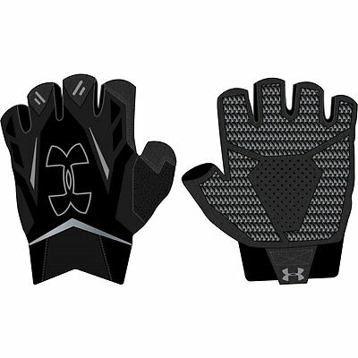 UNDER ARMOUR NEW Men's Training Gloves Black BNWT