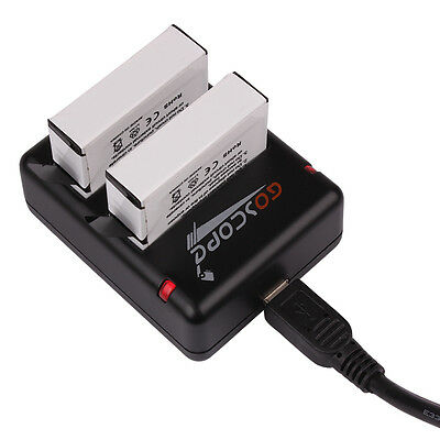 GoScope - GoPro Hero4 Dual Charger with Battery
