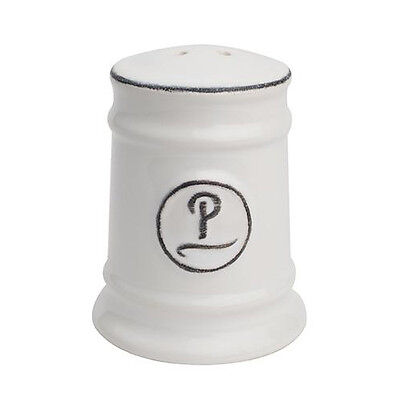T&G Pride Of Place Pepper Shaker White