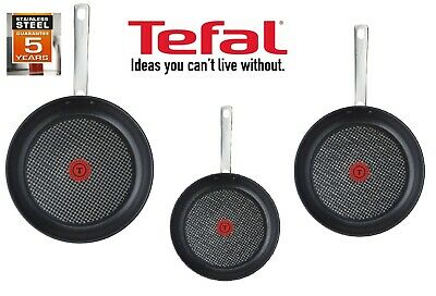 Tefal Intuition Frying Pan Non Stick Cooking 30cm, Stainless Steel