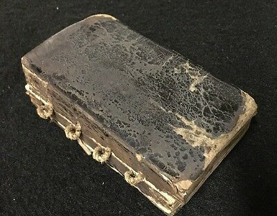 18th Century Book Of Common Prayer Hand Dated 1717 And Signed