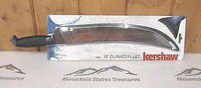 "Kershaw Fillet Knife ~ Curved 12"" Fillet Knife ~ New ~ Free Shipping"