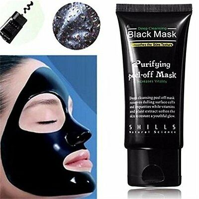 Blackhead Remover Cleaner Purifying Deep Cleansing Acne Black Mud Face Mask NEW