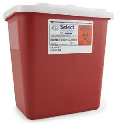 2 Gallon Multipurpose Needle Disposal Container w/Lid {doctor tattoo} #SHARP-2G