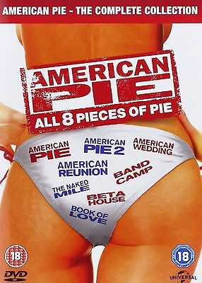 American Pie Complete 1-8 DVD Box Set All Movie Films 1 2 3 4 5 6 7 8 New UK R2