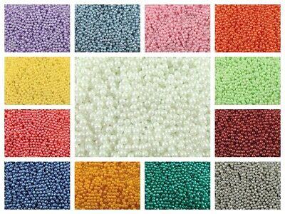 CHOOSE COLOR! 100pcs 3mm Pastel Round Beads Czech Pressed Glass