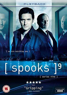 Spooks Complete Series 9 Dvd Season Brand New Sealed Uk Release 9Th Nineth