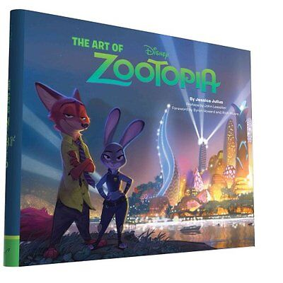 The Art of Zootopia by Jessica Julius 9781452122236 (Hardback, 2016)