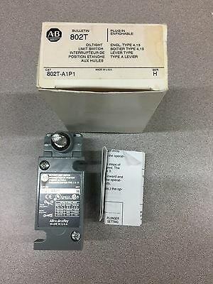 New In Box Allen-Bradley Oiltight Limit Switch 802T-A1P1 Series H