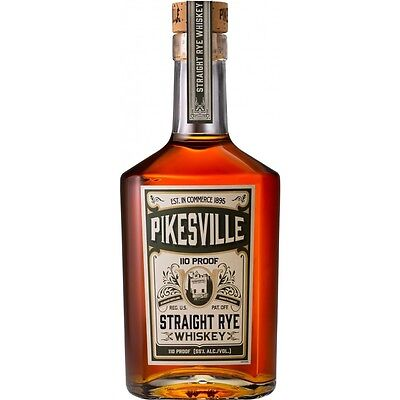 Pikesville Straight Rye Whiskey 110 proof 750ml