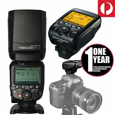 Yongnuo YN600EX-RT II Speedlite Flash Kit / YN-E3-RT Transmitter for Canon AU