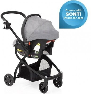 Urbini Omni Plus Travel System Special Edition, Infant Car Seat and Stroller New