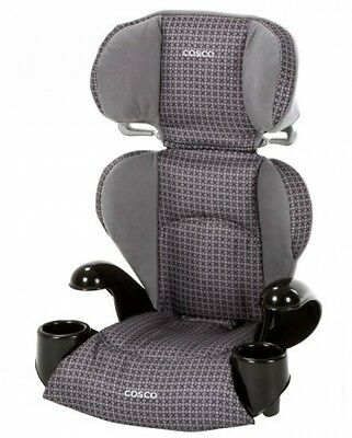Cosco Rightway Kids Booster Car Seat Emerson Cupholders Converts To Backless