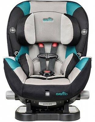 Evenflo Triumph LX Convertible Car Seat, Everett Baby Infant Toddler Child New