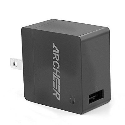 18 Watt USB Faster Wall Charger Travel Power Adapter w/ Foldable Plug Phones NEW