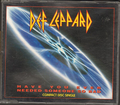 DEF LEPPARD 4 trck NEW CD SINGLE Have You Ever Needed Someone So Bad LITTLE WING