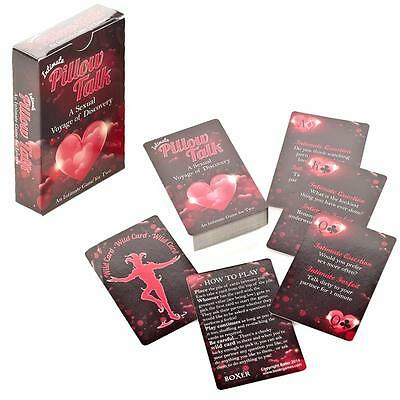Adult Age 18+ Pillow Talk Intimate Card Game - Christmas Stocking Filler