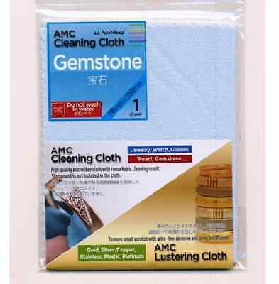 Gemstone Cleaning Cloth Beads Jewellery Glass 195x250mm New - TP1222