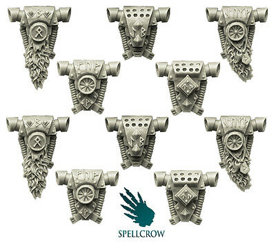 Spellcrow - Wolves Space Knights Backpacks- WOLVES BITS