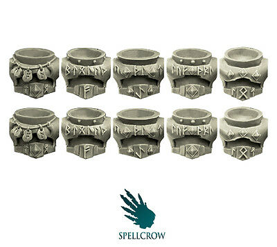 Spellcrow - Wolves Space Knights Torsos- WOLVES BITS