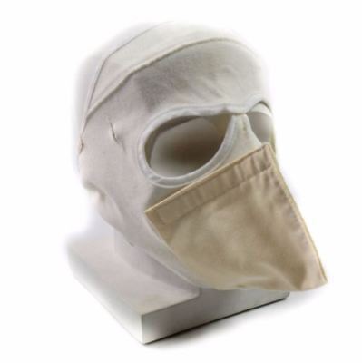 New british army cold weather face mask. Flame resistant white mask MK2