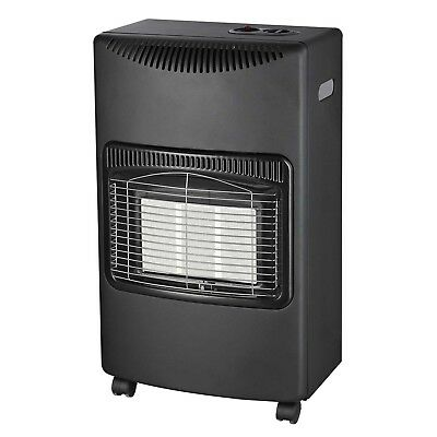 New 4.2Kw Portable Home Butane Fire Calor Gas Cabinet Heater With Regulator Hose
