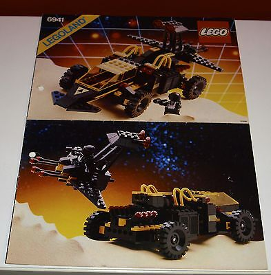 Lego Space BA 6941 Battrax, only Instructions Manuel,ohne Steine