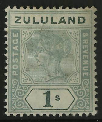 Zululand   1894-96    Scott #20   Mint Very Lightly Hinged Condition