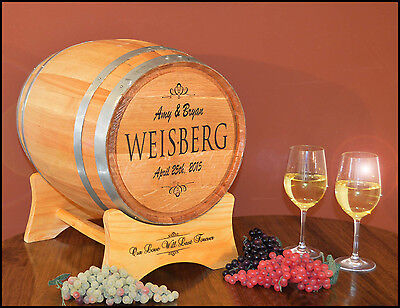 Personalized Classic Wedding Barrel™ Card Holder Wedding, Party, Anniversary