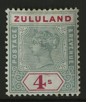 Zululand   1894-96    Scott #22   Mint Very Lightly Hinged Condition