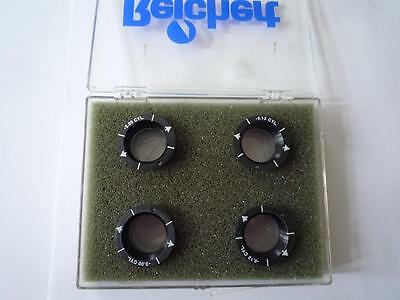 Reichert Phoroptor Accessory Lens Sets -0.12 CYL & -2.00 CYL Linse Linsen Lenses
