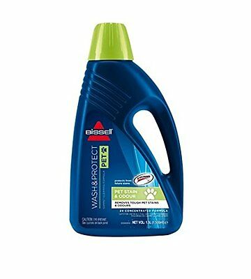 BISSELL Wash And Protect Pet Carpet Shampoo, 1.5 L, 1087E