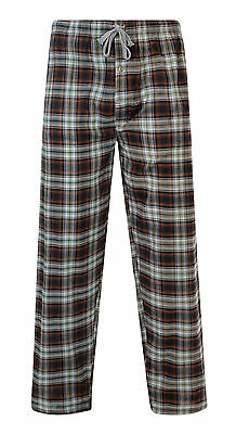 "Mens Pyjama Bottoms Woven Cotton Check Lounge Pants ""random Pick"" Bnwt"