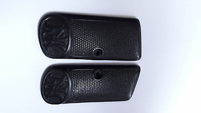 Browning Fn 1910 Grips Wwii Ww2 Repro Black