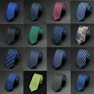 Classic Paisley JACQUARD WOVEN Silk Men's Business Tie Necktie 26 Colors