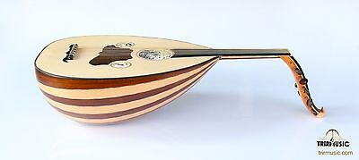 Turkish Professional Walnut Maple  String Instrument Oud Ud Apo-123