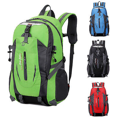 40L Waterproof Hiking Camping Bag Travel Backpack Outdoor Sports Bike Rucksack