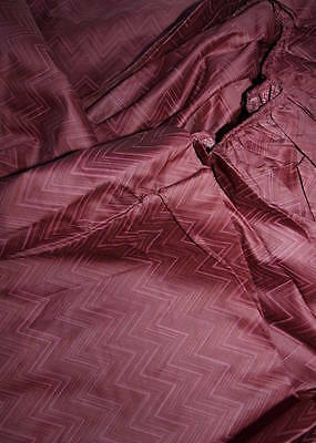 Missoni Home Lenzuolo sotto Khoen bordeaux 175 x 200 cm Fitted sheet