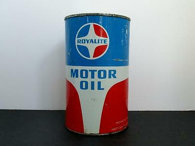 Royalite Oil Company Super Diesel Motor Oil quart tin can
